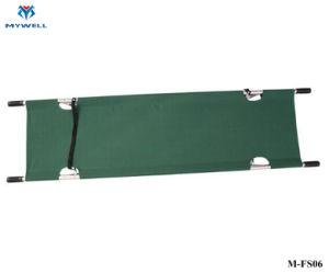 M-FS06 Equipamentos portáteis de emergência militar descartáveis de salvamento maca dobrável