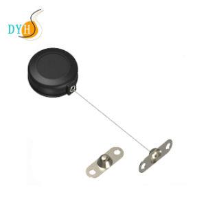 Retractor antirrobo de seguridad Caja tirar cable de forma redonda Recoilers
