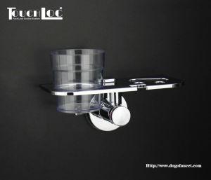 Porta vasos doble ventosa para baño Dg-Sfc1008