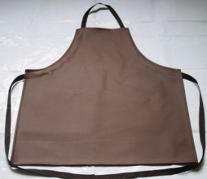 Кожаный чехол для тяжелого режима работы для приготовления пищи на кухне в посудомоечной машине водонепроницаемый нагрудный фартук