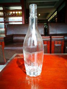 bottiglia di vetro della vodka 500ml con il nuovo disegno