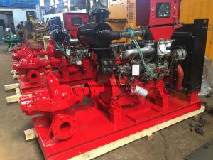 Grosser Fluss-aufgeteilte Gehäuse-Dieselmotor-Feuerbekämpfung-Wasser-Pumpe