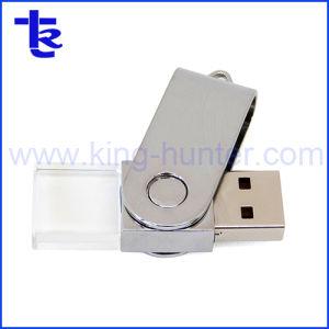 Кристально чистый флэш-накопитель USB в качестве подарка компании