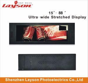TFT de 35 Ultra Wide esticada Bar esticada leitor LCD HD, LCD com ecrã de publicidade do AD