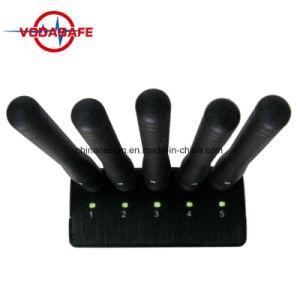 La señal de GPS y teléfono celular Jammer con cargador de coche,Portable bloqueador de las bandas de 6 para 3G/4G teléfono móvil, WiFi, GPS, Lojack,GPS Portátiles Jammer móvil con cargador de coche