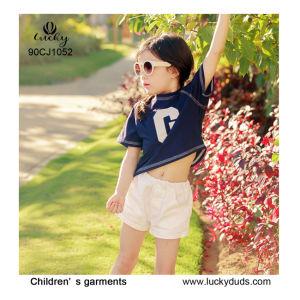 Les enfants vêtement chaud 100% coton pour les enfants Filles fashion robe