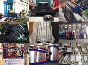 Sondex S7a/S9aのガスケットまたはゴムシールのための優秀な硬度の強さの版の熱交換器のガスケット