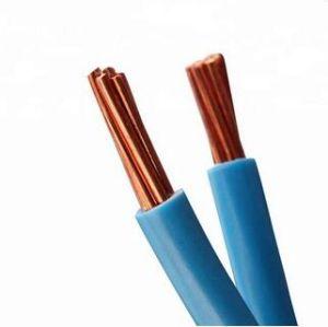 La Cina fornisce il cavo elettrico isolato PVC Bvr di rame 450/750V della BV BVVB del collegare del cavo del conduttore