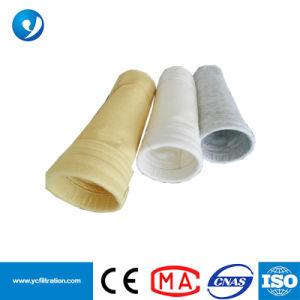 Tejido de fibra de vidrio Filtro de polvo de cemento de bolsas de tela del filtro