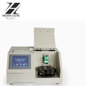Hzcs-3標準速い配達テスター3個のコップの変圧器オイルの酸の