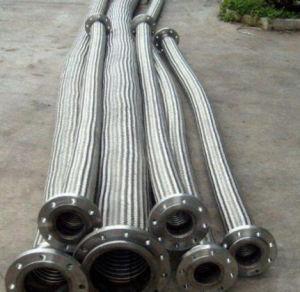 ステンレス鋼の波形の軟らかな金属のホースの管