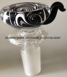 Cc388 Wigwag el tazón de vidrio de borosilicato de Pipa