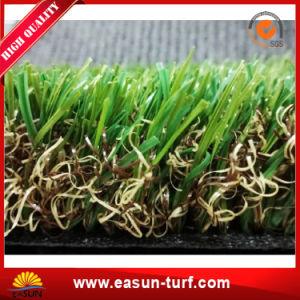Tappeto erboso sintetico artificiale resistente al fuoco dell'erba per la casa ed il giardino
