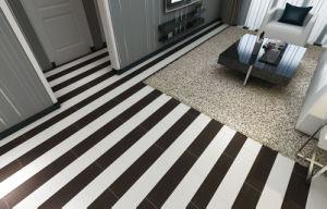 De witte Houten Plank verglaasde de Ceramische Tegel van de Vloer van de Slaapkamer