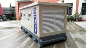 Industrielle leise 220kw 275kVA Volvo Tad734ge Motor-Energien-elektrisches Generator-Dieselset
