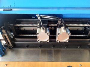 Die Junta/Auto Regla de acero doblado/Doble máquina Zy320d con brochado y perforación