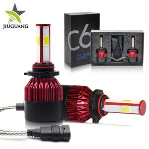 自動車球根の車のための自動照明装置C6 LEDランプ4の側面のヘッドライト8000lm H4 LEDライト