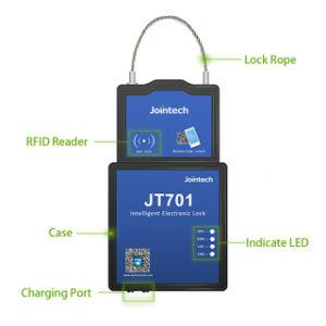 Slim GPS GPS van het Slot Hangslot voor het Verzegelen van de Drijver van de Container en de Oplossing van de Veiligheid van de Lading