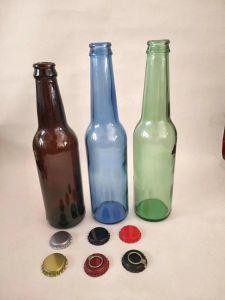 Cristalleria/bottiglie di vetro/bottiglie di vetro della bevanda con differenti colori
