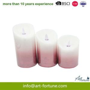 Kerze der Farben-Änderungs-Kugel-LED für Hauptdekor
