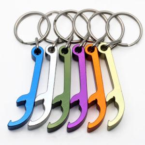 싼 주문 금속에 의하여 양극 처리되는 알루미늄 병따개 열쇠 고리