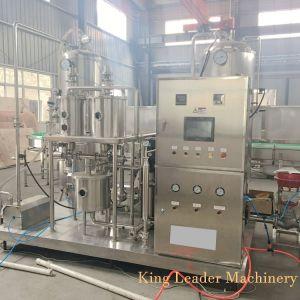 Suco de frutas com Carbonatação máquina de mistura de gás
