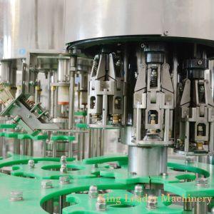 4000bph полностью автоматическая стеклянную бутылку фруктового сока заполнение производственной линии