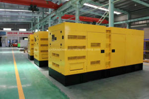 Famous Factory 300kw/375kVA Silent Volvo Engine Generator (GDC300*S)