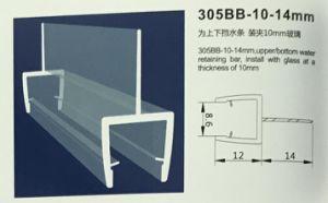striscia della tenuta magnetica del PVC di allegato dell'acquazzone della stanza da bagno del PVC di 305bb-10-14mm