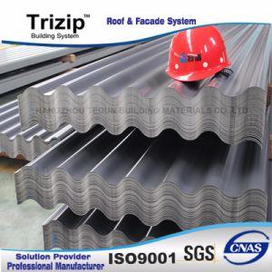 Recouvert de zinc Revêtement de toit extérieur en carton ondulé