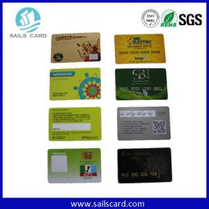 El precio de fábrica modificó la tarjeta plástica impresa del PVC para requisitos particulares del espacio en blanco de la tarjeta de Card/PVC