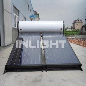 Flat-Plate integrada calentador de agua solar