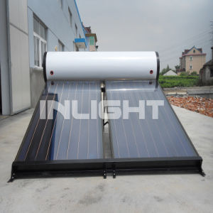 Geïntegreerde vlakke plaat zonneboiler