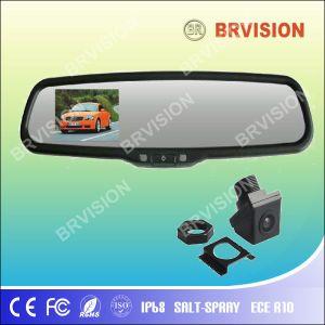 3.5 polegadas Monitor Espelho Interior do carro com Kit Mãos Livres