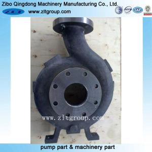 En acier inoxydable ou en acier au carbone Durco Moulage au sable Corps de pompe