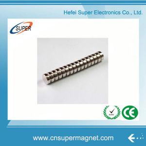 Мощные металлокерамические NdFeB N35 диск магнита
