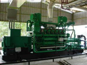 10kw-5MW Biogasのごみ処理のMashgasの生物量の自然なメタンの炭鉱のベッドのガスの発電機