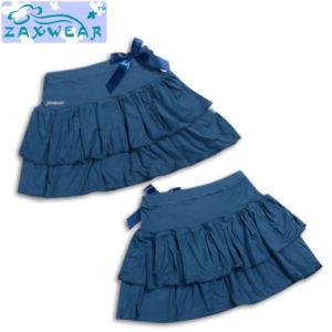 Экологичный Zaxwear ткань хлопок бамбук девушка платье/Детский одежды ODM для изготовителей оборудования