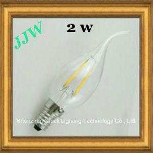 Heck Candle Light 2W E14 200lm LED Filament Bulb für Ceiling Lamp (TC35FW2-1.8-E14S)