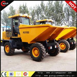 De Kipwagen van de Macht Fcy50 van de Kaart van China, de Vrachtwagen van de Kipwagen