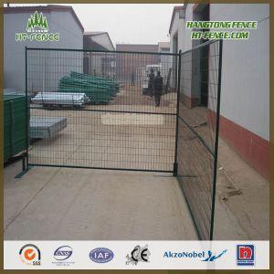 Rete fissa provvisoria locativa verde scuro di vendita calda