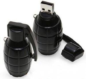 Whosaleの価格の手榴弾USBのメモリフラッシュ1GB