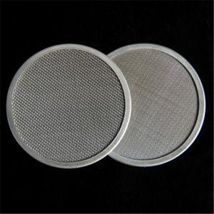 304 316L de 5-50 cm de diámetro en acero inoxidable Rimmed discos filtro redondo