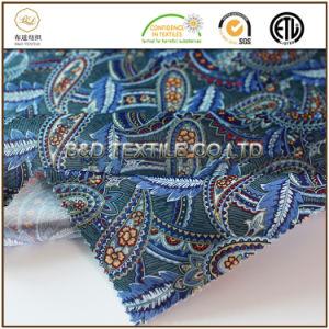 印刷される熱い販売ポリエステル270tサテン人の衣服のためのファブリックを並べる