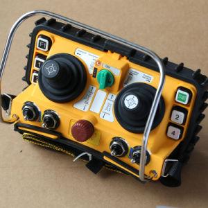24V F24-60は無線遠隔コントローラタワークレーンのためのジョイスティックの二倍になる