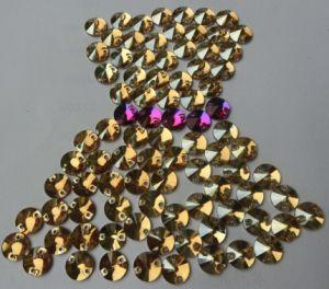 De Steen van het kristal voor Kleding naaien-op Parel van het Glas van de Steen de Buitensporige