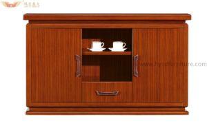 قشرة حديث مع صورة زيتيّة زجاجيّة باب شاي تلفزيون خزانة ([ه-504])