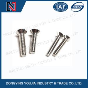 La norme ISO7046 Croix en acier inoxydable encastrés de vis à tête fraisée