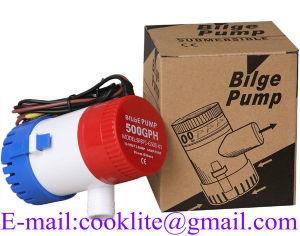 Pompa di sentina di CC - Gph500 - 12V/24V