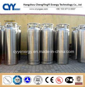 Sonda de oxigénio líquido de Baixa Pressão Industrial árgon, azoto CO2 Cilindro Dewar